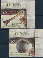 2014 Europa CEPT Hangszerek ívsarki sor Mi 694-695