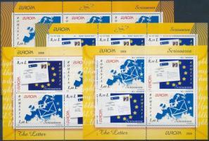 2008 Euroa CEPT, A levél kisív sor Mi 6294-6295 + blokk 425-426