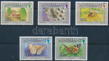 1992 5 klf Rovar érték Mi 848-850, 853, 856