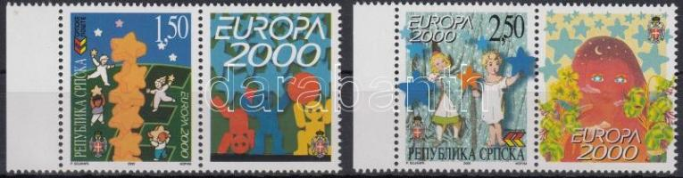 2000 Európa szelvényes sor Mi 167-168