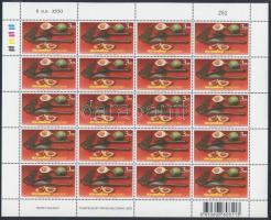 International Mailing Week mini sheet set, Nemzetközi levelezési hét kisívsor