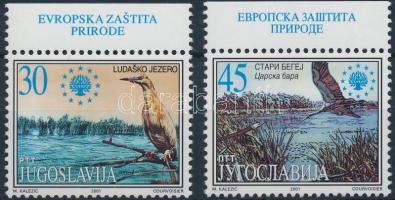 2001 Természetvédelem ívszéli sor Mi 3034-3035