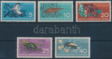 1959 Természet sor Mi 688-692
