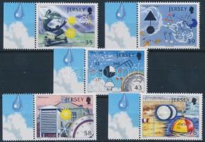 2008 Meteorológiai mérőállomás sor Mi 1328-1332 (záróértéken betapadás nyom)