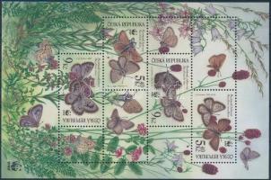 2002 WWF: Pillangó blokk Mi 17