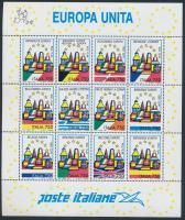 1993 Egyesült Európa kisív Mi 2254-2265