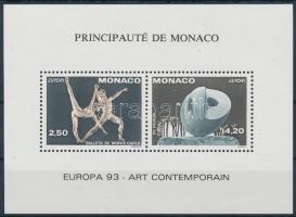 1993 Europa CEPT, kortárs művészet blokkformájú pár Mi 2120-2121