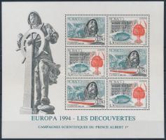 1994 Europa CEPT, Felfedezések és találmányok blokk Mi 63