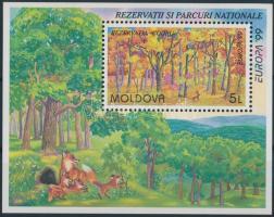 1999 Europa CEPT, Nemzeti parkok blokk Mi 18
