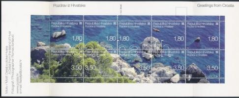 Greetings stamp booklet, Üdvözlet bélyegfüzet