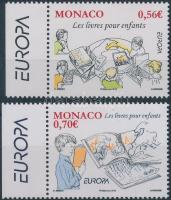 2009 Europa CEPT, Gyerekkönyvek ívszéli sor Mi 2995-2996