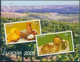 2005 Europa CEPT bélyegfüzet Mi MH 9 (511-512)