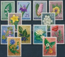 1963/1971 Flowers set, 1963/1971 Virágok sor