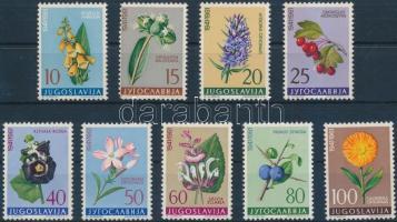 Flowers (IV) set, Virágok (IV.) sor