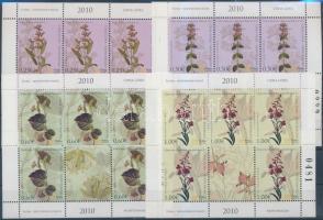 Flower minisheet set, Virág kisív sor