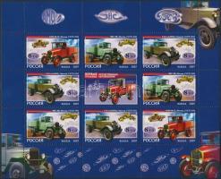 2007 Régi teherautók kisív Mi 1437-1439