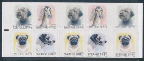 2008 Kutyák öntapadós bélyegfüzet Mi 2618-2621