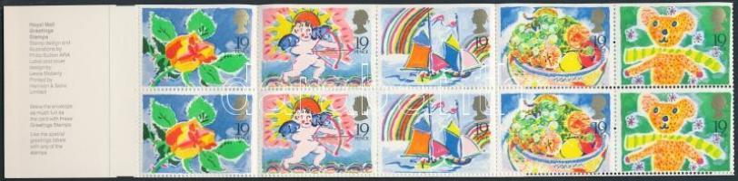 1989 Üdvözlőbélyegek bélyegfüzet MH 84
