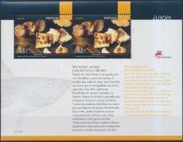 Europa CEPT: Gastronomy block, Európa CEPT: Gasztronómia blokk
