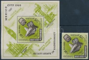 1966 Nyári olimpia Mi 79 A + blokk 2 A
