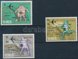 1966 Nyári olimpia sor Mi 237-239