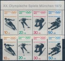 Winter Olympics, Sapporo set + block, Téli Olimpia, Sapporo sor + blokk