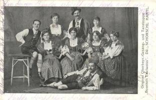Original Oberbayr.-Gesang- und Tanztruppe Boarisch-Edelweiss / German Bavarian folk music and dance group (EK)