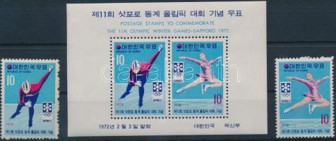 1972 Téli Olimpia, Sapporo sor Mi 824-825