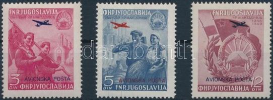 Airmail set, Légiposta bélyeg sor
