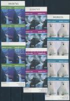 2005 Nevezetességek 3 db bélyegfüzet Mi 1531-1533