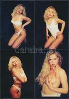 cca 1980 Fantáziaserkentő fényképek, 13 db korabeli negatívról készült modern nagyítás, finoman erotikus képek, 9x13 cm / cca 1980 13 erotic photos, 9x13 cm