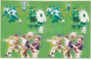 2002 100 éves a norvég labdarúgó szövetség öntapadós bélyegfüzet Mi 1426-1429