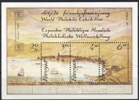 International stamp exhibition HAFNIA block, HAFNIA nemzetközi bélyegkiállítás blokk, Internationale Briefmarkenausstellung HAFNIA Block