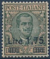 1925 Forgalmi sor záróértéke Mi 221