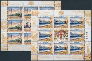 Orient Express minisheet set, 125 éves az Orient Expressz kisív sor