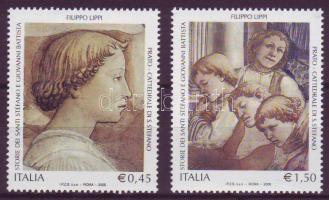 2005 Olaszország művészeti és kultúrális öröksége Mi 3060-3061