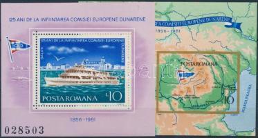 Danube Commission block set, Duna bizottság blokksor