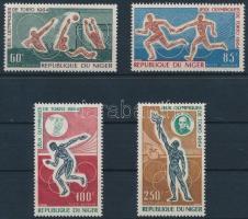 1964 Nyári olimpia sor Mi 79-82