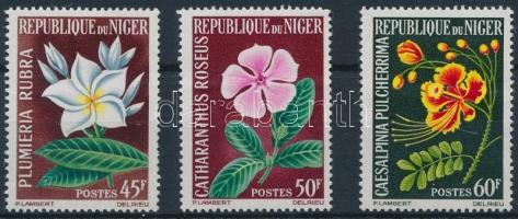 1965 Virág sor Mi 91-93