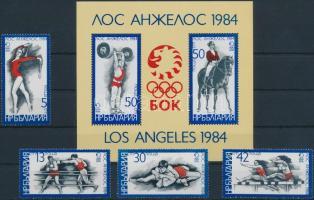 Summer Olympics  Los Angeles set + block, Nyári Olimpia, Los Angeles sor + blokk