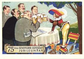 75th anniversary of the Senefelder Association s: Wenczel M., A 75 éves Senefelder Egyesület jubileumára s: Wenczel M.