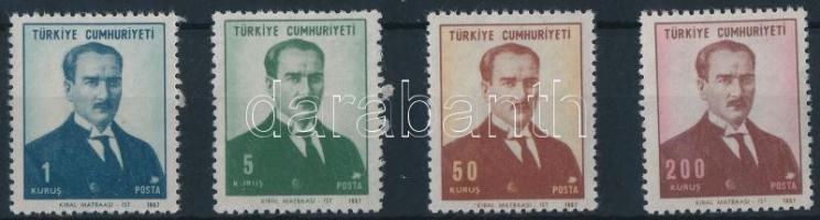 Atatürk set, Atatürk sor
