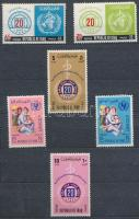 Irak 1965-1969 Kis összeállítás 94 klf bélyeg, benne sorok 10 lapos kis berakóban
