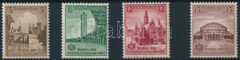 1938 Torna és Sport fesztivál sor Mi 665-668