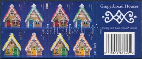Christmas self-adhesive foil Stamp-booklet, Karácsony öntapadós fólia bélyegfüzet