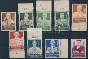 1934 Nothilfe: Foglalkozások sor Mi 556-564 (556 és 564 falcos)