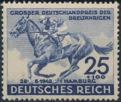 1942 Lóverseny; Német Derby Mi 814