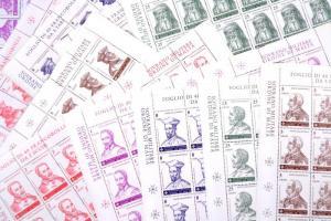 A Rend nagymesterei 11 érték teljes ívekben Great masters 11 stamps in full sheets