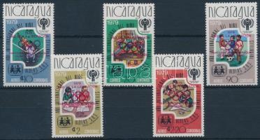 1980 Olimpia sor Mi 2080-2084 a
