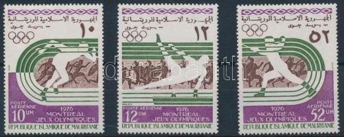 1976 Nyári olimpia sor Mi 536-538